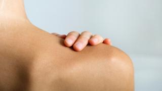 Rückenkleben